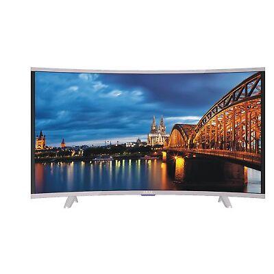 AKAI CTV400 Televisore Curvo 39 Pollici TV LED FHD DVB-T2 HDMI