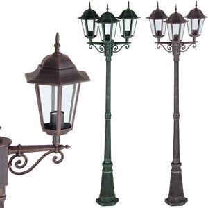 XXL Gartenlaterne Gartenleuchte Außenleuchte Wegelampe Außenlampe Kandelaber