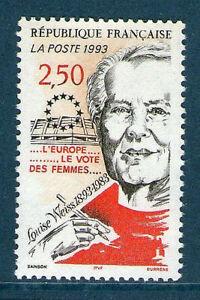 TIMBRE 2809 NEUF XX LUXE  - LOUISE WEISS - FEMME POLITIQUE