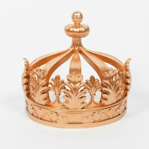 French Antique Style Gold Crown Bed Wall Canopy Royal Bedroom Decor Wedding Ebay