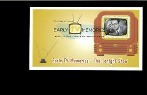 2009-FDC-Early-TV-Memories-The-Tonight-Show-North-Hollywood-CA