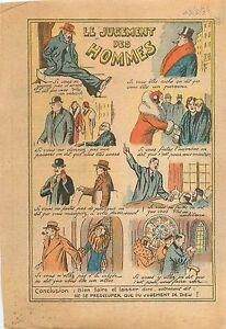 """Humour Jugement des Hommes Eglise Ambitieux Bourgeois Politique Paris 1934 - France - Commentaires du vendeur : """"OCCASION"""" - France"""