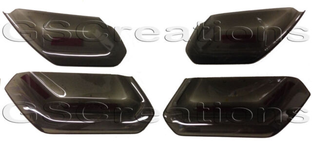 C7 Corvette ZR1 Rear Molded Smoked Taillight Covers Blackouts Tinted look