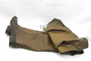 Itasca Brown Rubber Chest Waders Men/'s size 7