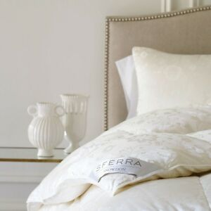 Sferra Snowdon Canadian White Goose Down Pillow With 900