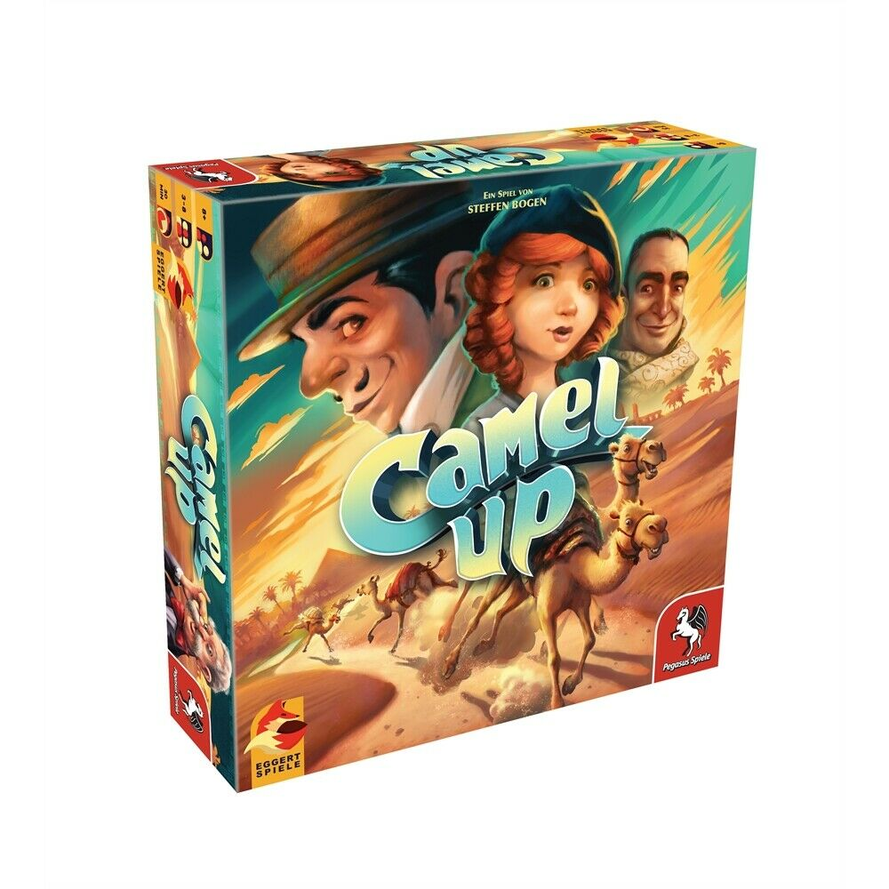 Camel Up 2nd Edition (eggertspiele)