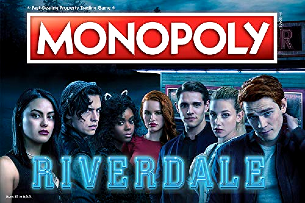 Monopoly Riverdale Board Game | Official Riverdale Merchandise | Gift Toy Adults
