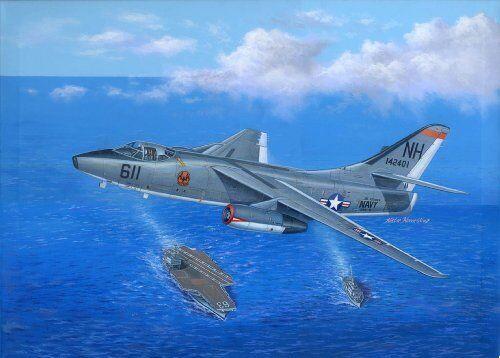 A-3D-2 Douglas Skywarrior Strategic Bomber Plastic Kit 1 48 Model 2868 TRUMPETER