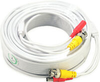 2x100ft Video Power Extension Cable CCTV Surveillance Security Camera Cord b21