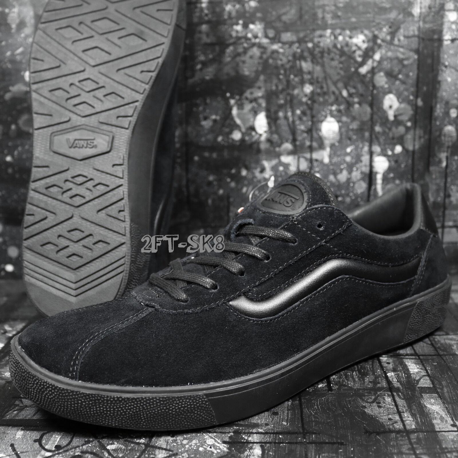 VANS WALLY 3 STAPLE BLACK BLACK MEN'S 11.5 SKATE SHOES// S85138.282