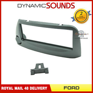 CT24FD24-Voiture-Radio-Stereo-CD-Panneau-Facade-Anthracite-For-Ford-Ka-1997-2008