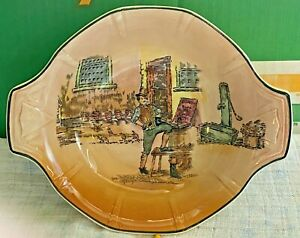 Royal Doulton-Dickens Ware-Sam Weller-Handled Bowl-Porcelain/China-Vintage