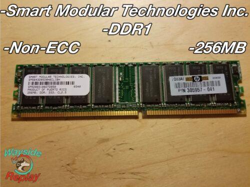 Various EEC Non-ECC Memory Sticks 256MB 512MB Kingston Samsung Nanya Infineon
