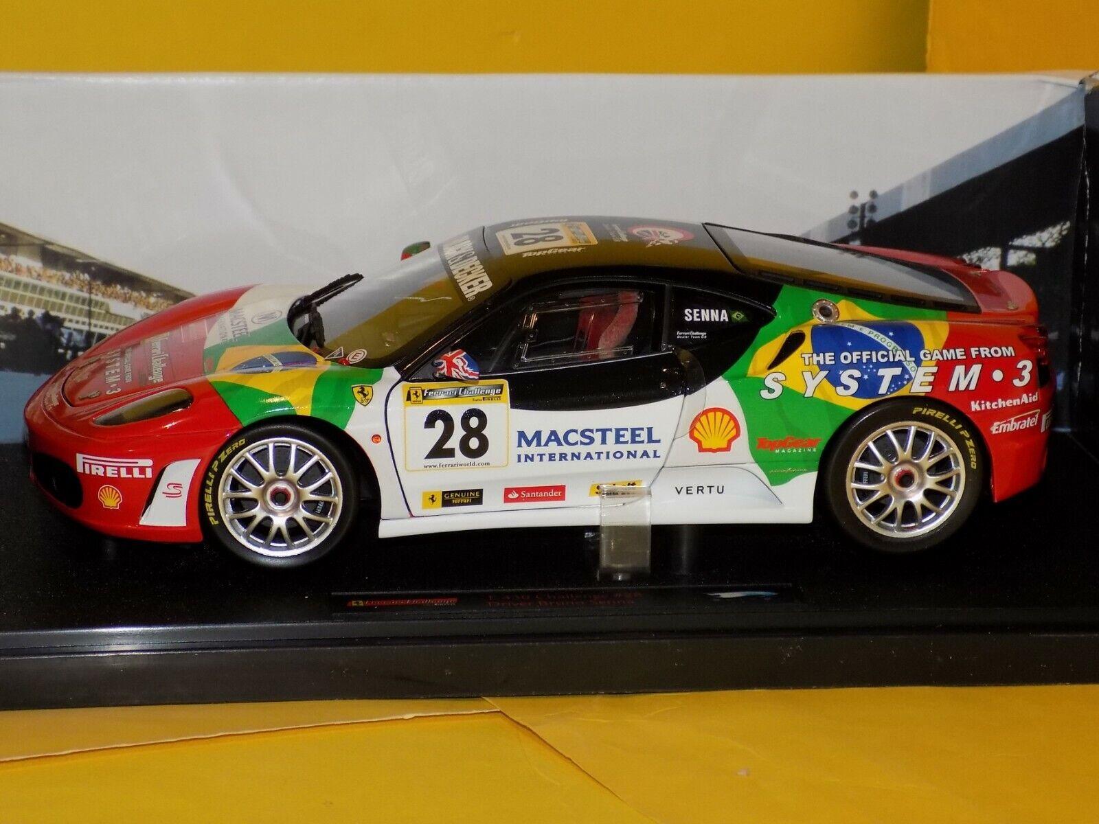 Ferrari F430 Scommessa  28 Autista B Senna Elite N2068 1 18