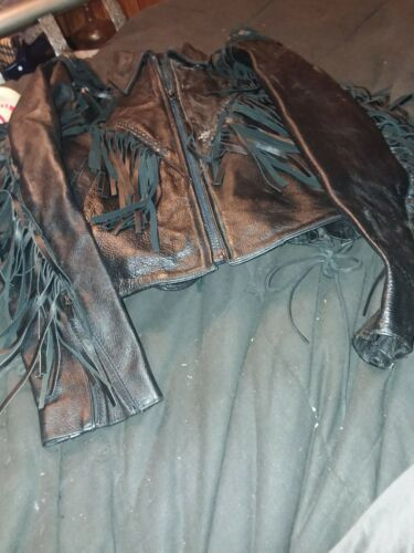 OPEN ROAD WILSONS FRINGED LEATHER JACKET