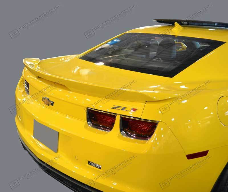 For Chevy Camaro Unpainted Spoiler Wing W Led