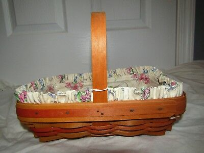 Longaberger 2000 Mother's Day Early Blossoms Basket. Used