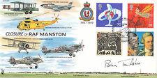 JS(CC)60g Closure of RAF Manston  Signed Brian Trubshaw. Concorde Test Pilot FDC