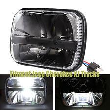 "One Rectangular LED 5"" X 7"" Ford GM Van Jeep XJ YJ Headlight Cherokee XJ Trucks"