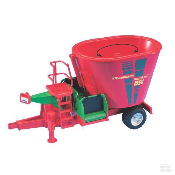 SIKU Strautmann greeni Mix 1250 Mixing Wagon 1 32 Scale Model Toy Gift