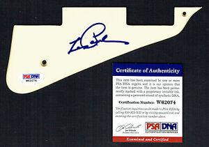 Les Paul (d. 2009) signed autograph auto Gibson Pickguard PSA/DNA Authenticated