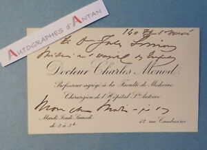 CDV-Charles-MONOD-Chirurgien-Hopital-Saint-Antoine-Professeur-Faculte-Medecine