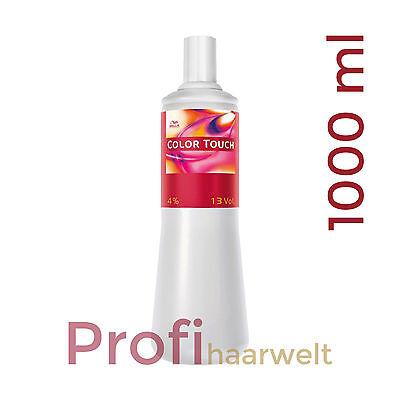 Wella Color Touch Emulsion zwischen 1,9% und 4%, frei wählbar, 1000 ml
