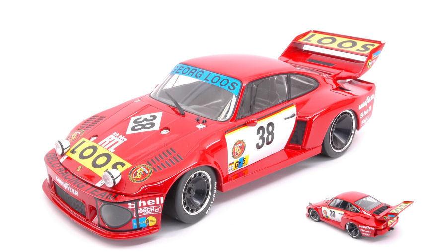 Porsche 935  38 Dnf Lm 1977 T. Schenken   T. Hezemans   H. Heyer 1 18 Model