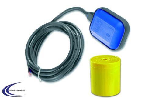 Pumpen Schwimmerschalter Wechsler mit 10m Kabel zum Entleeren oder Befüllen