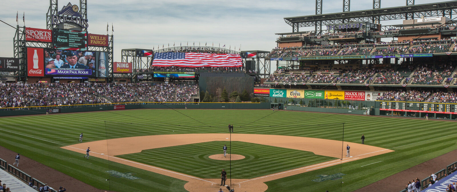 San Diego Padres at Colorado Rockies