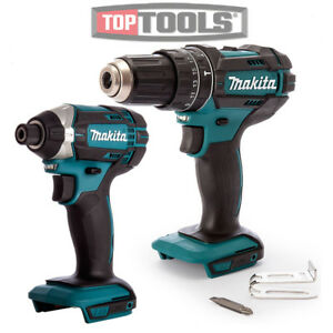 makita dhp482z lxt 18v cordless combi drill with dtd152z. Black Bedroom Furniture Sets. Home Design Ideas
