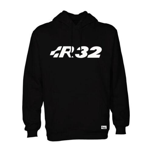 "EAKS® Hoody /""R32-SCHRIFTZUG/"" bl Logo Emblem Kapuzen Pullover Hooded Sweatshirt"