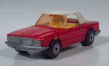 """Matchbox Lesney Superfast No 6 Mercedes 350SL 3"""" Die Cast Scale Model Red White"""