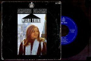 MARI-TRINI-Amores-Firmado-Por-La-Artista-Signed-SPAIN-7-034-Hispavox-1971