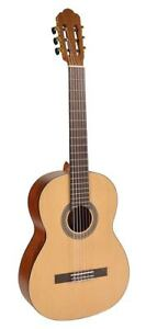 Concert-Guitar-Salvador-4-4-Size-Nylon-Strings-Top-Processing-Exhibitors