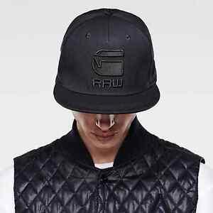 NWT Men s G-Star Raw Originals Adjustable Snapback Cap Baseball Hat ... 3301501bb92b