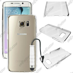 Coque-Housse-Etui-Rigide-Transparent-Samsung-Galaxy-S6-edge-G925F-Mini-Stylet