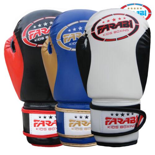 Farabi Kids Boxing Gloves MMA Muay Thai Sparring Training Punching Mitts