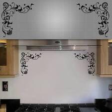 """Decorative Corner Wall Decals - 12"""" x 12"""" - 2PCS"""