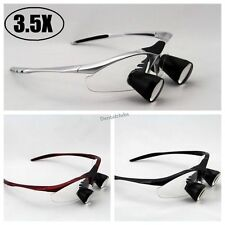 High End 35x Dental Loupes Binocular Medical Loupe Surgical Magnifier Glass Ttl
