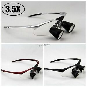 High-End-3-5X-Dental-Loupes-Binocular-Medical-Loupe-Surgical-Magnifier-Glass-TTL