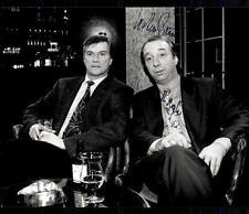 Richard Rogler und Jochen Busse Original Pressefoto Original Signiert ## G 11261