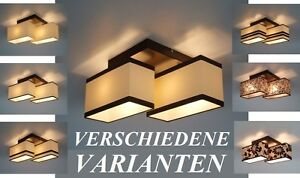 442-2-DESIGN-DECKENLEUCHTE-DECKENLAMPE-LAMPE-LEUCHTE-BELEUCHTUNG-LED-MOGLICH