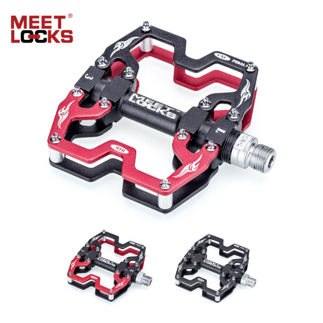 MEETLOCKS Utral Sealed Bike Pedal CNC Aluminum Body For MTB Cycling Road Bicycle