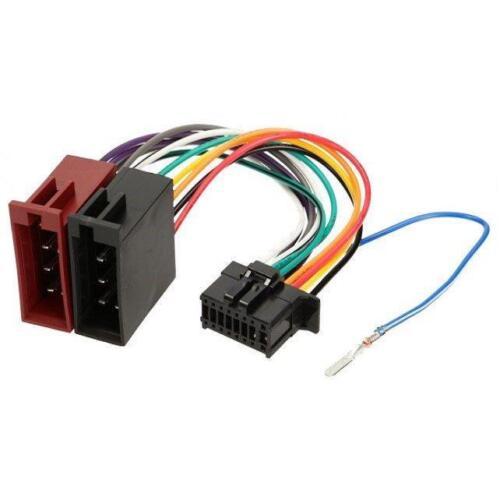 Cable iso autoradio Pioneer DEH-22UB DEH-80PRS DEH-140UB DEH-140UBB DEH-142UB