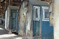 British Rail Class 40 cabs Melt Shop Crewe works 13/10/85 Rail Photo
