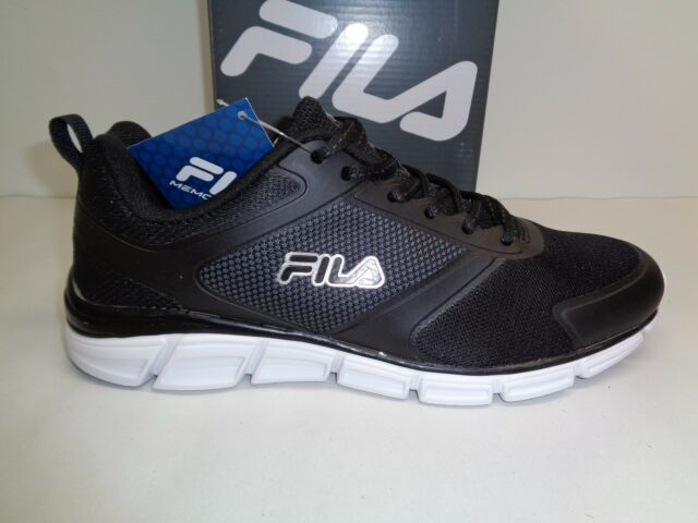 ef94e76fbcfa Fila Size 9 MEMORY STEELSPRINT Black Training Athletic Sneakers New Mens  Shoes
