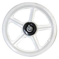 12 5-spoke Mag Scooter Wheel White 12-1/2 Front Bmx