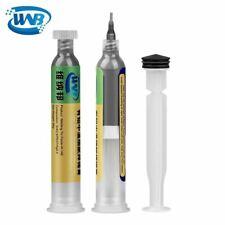 Wnb 10cc Syringe Liquid Flux Soldering Paste Tin Cream Welding Bga Smt