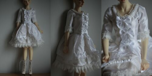 white rococo style outfit OOAK dress set for BJD Doll 1//3 sd sd16 SG size